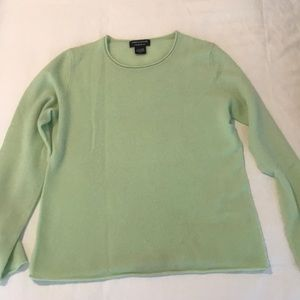 Cashmere sweater Lord & Taylor Lg